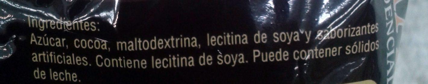 Chocolate Morelia Presidencial - Ingrediënten