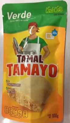 TAMAL VERDE TAMAYO - Produit