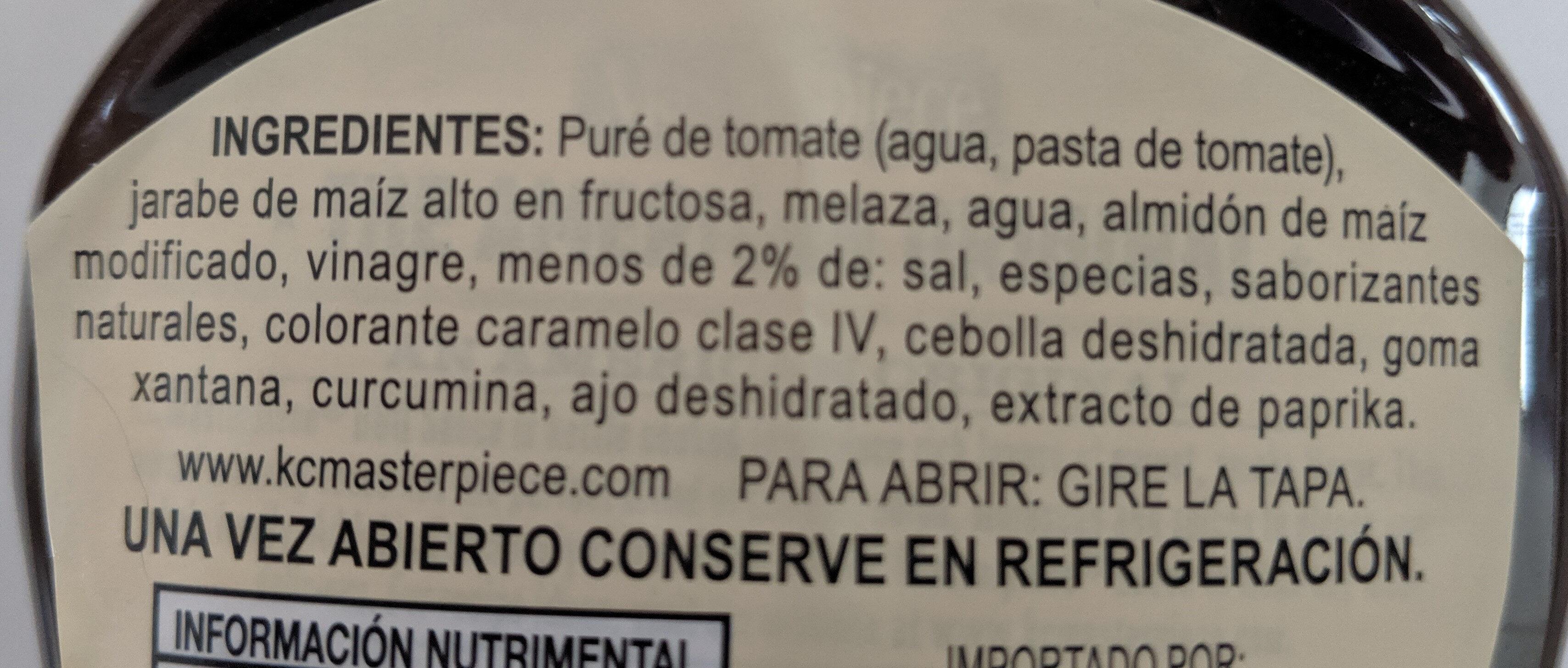 Salsa barbacoa The american original - Product