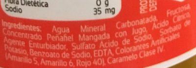 Peñafiel Mangada - Ingredients