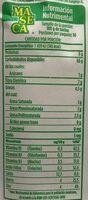 Harina de Maíz Nixtamalizado - Informations nutritionnelles - es