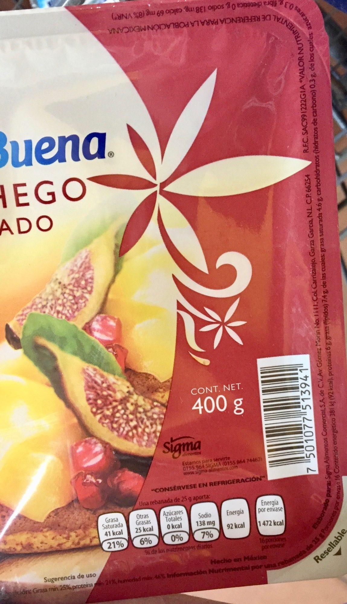 Queso Manchego Nochebuena - Voedingswaarden - es