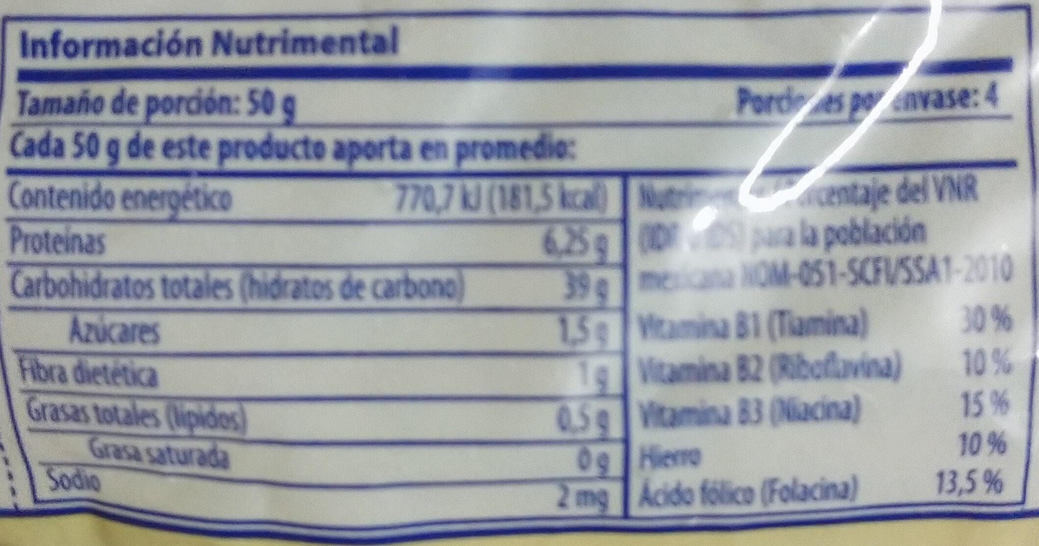 italpasta pluma chica - Informations nutritionnelles - fr