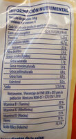Fusilli Arrabbiata - Información nutricional - es