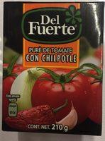 PURE DE TOMATE CON CHIPOTLE - Product - es