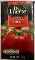 PURE DE TOMATE NATURAL - Product - es