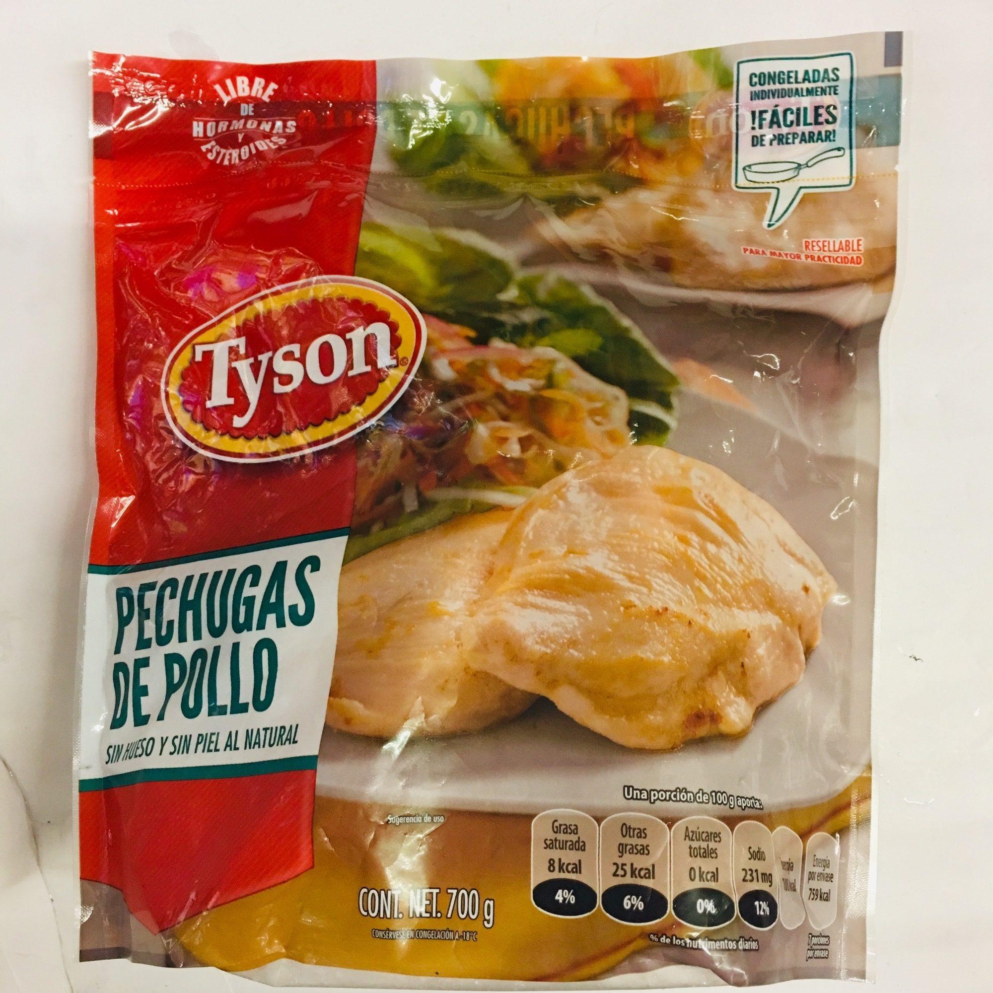 Pechugas de Pollo Tyson - Product - es