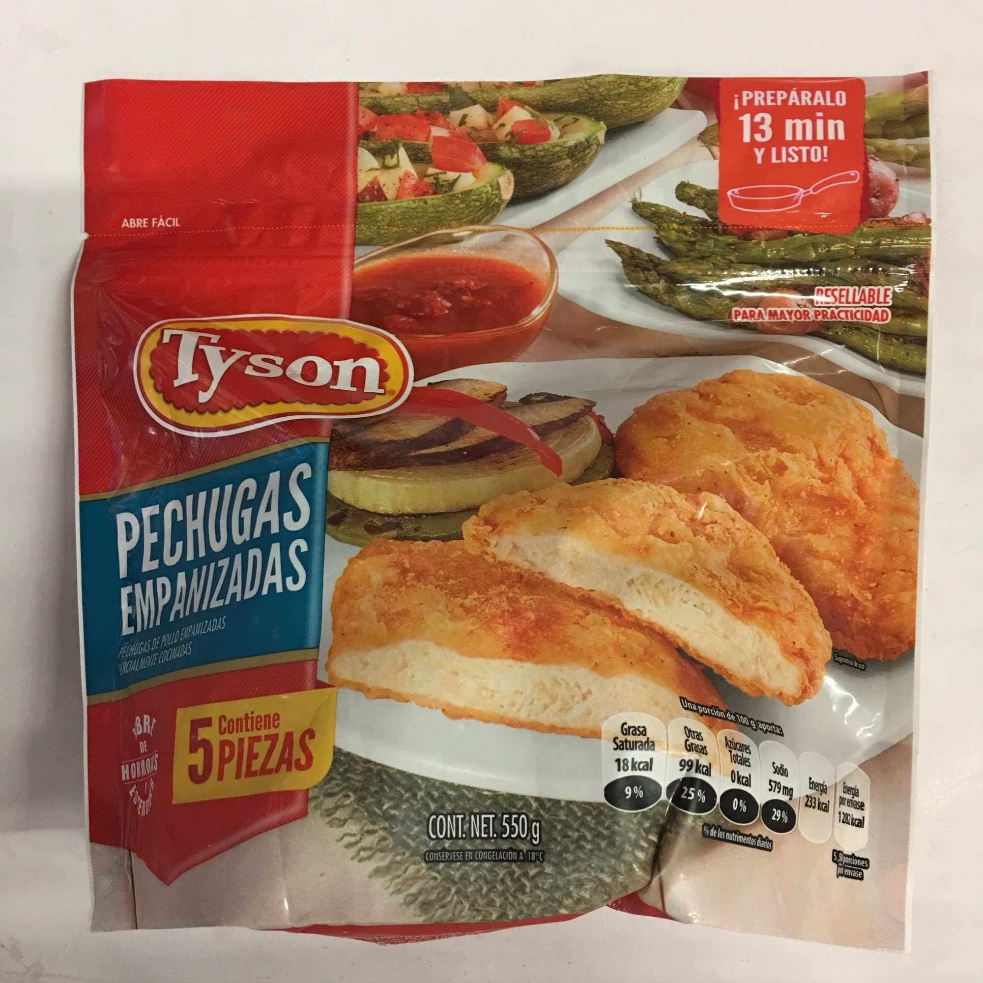 Pechugas empanizadas Tyson - Product - es