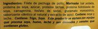 Tiras de Pechuga Bachoco - Ingrédients - es