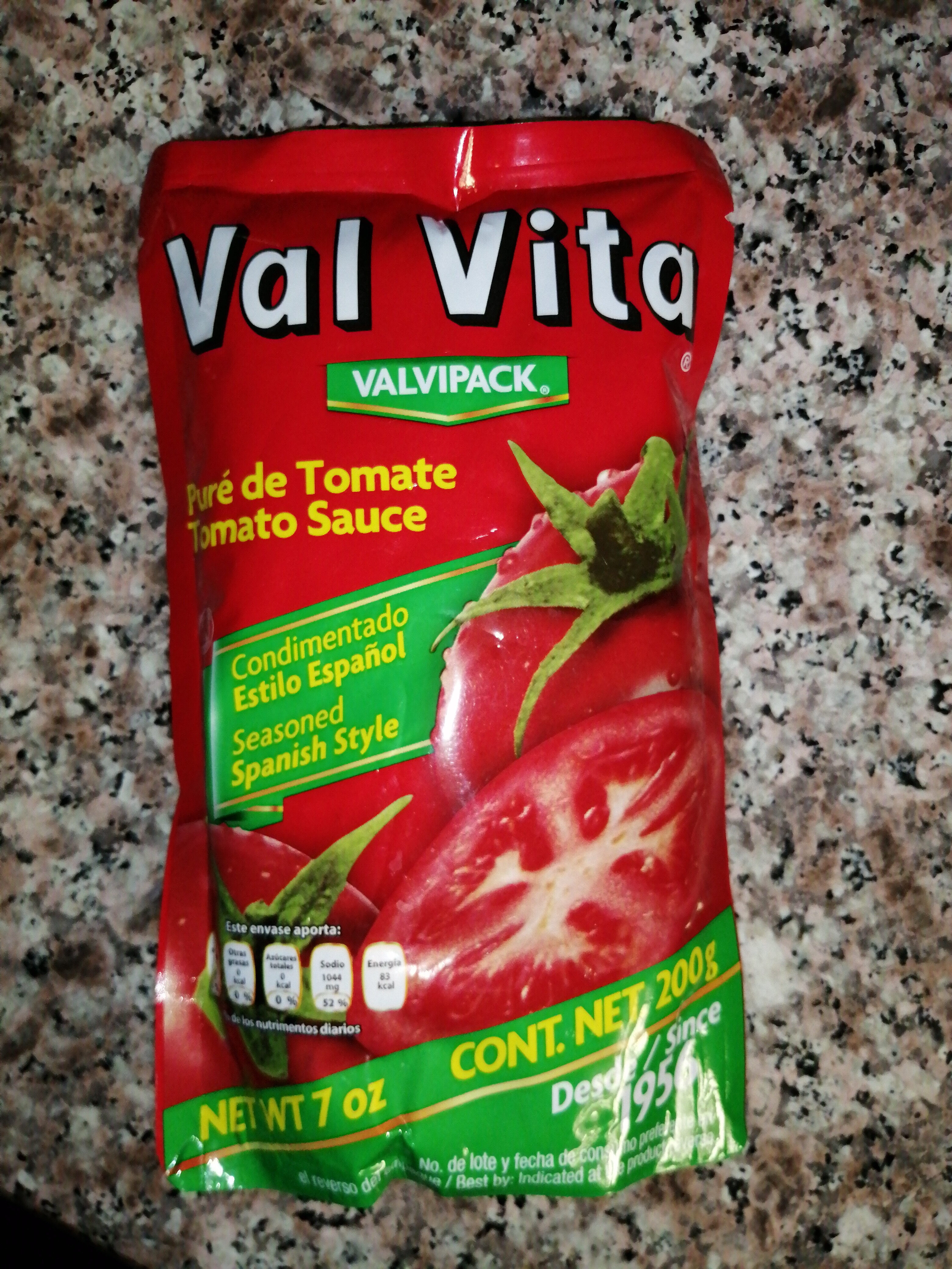 Puré de Tomate Val Vita - Producto - es