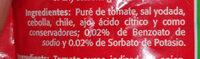 Puré de Tomate Val Vita - Ingredientes - es
