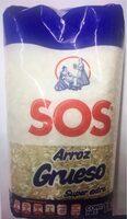 Arroz  Grueso Super extra SOS - Producto - es