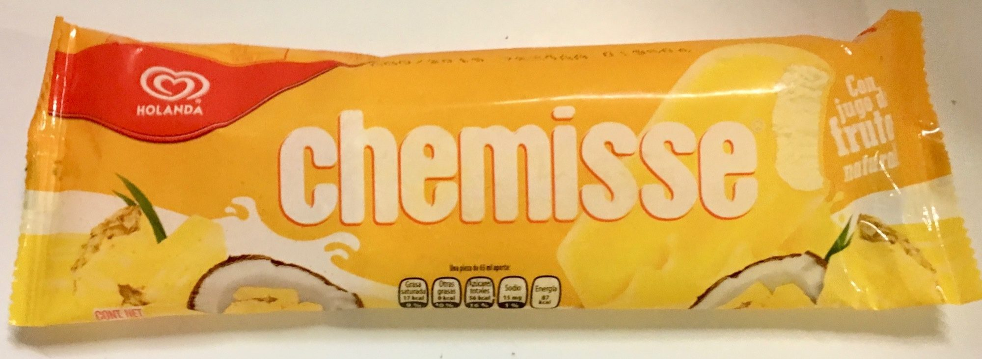 Paleta Chemisse Holanda - Product