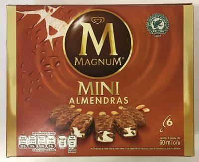 Helado de vainilla mini con almendras Magnum - Product