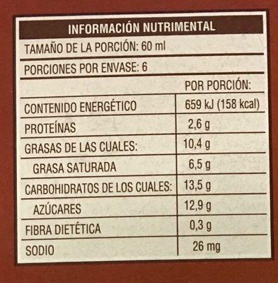 Helado de vainilla mini con almendras Magnum - Voedingswaarden