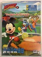Tender de pescado, Mickey aventuras sobre ruedas - Product - es