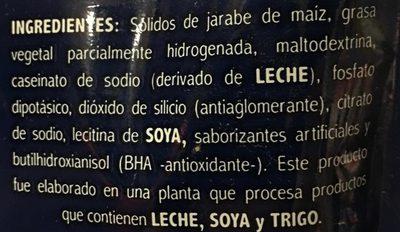 LAUTREC - Ingrediënten - es
