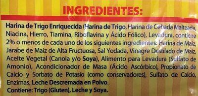 English Muffins - Ingrediënten - es
