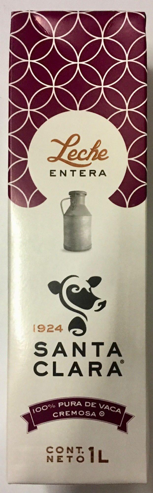 Santa Clara, Leche entera - Prodotto - es