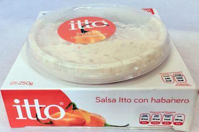 Itto Salsa con Habanero - Product