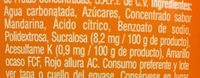 Jarritos - Ingrediënten - es