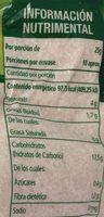 AMARANTO NATURAL - Voedingswaarden - es