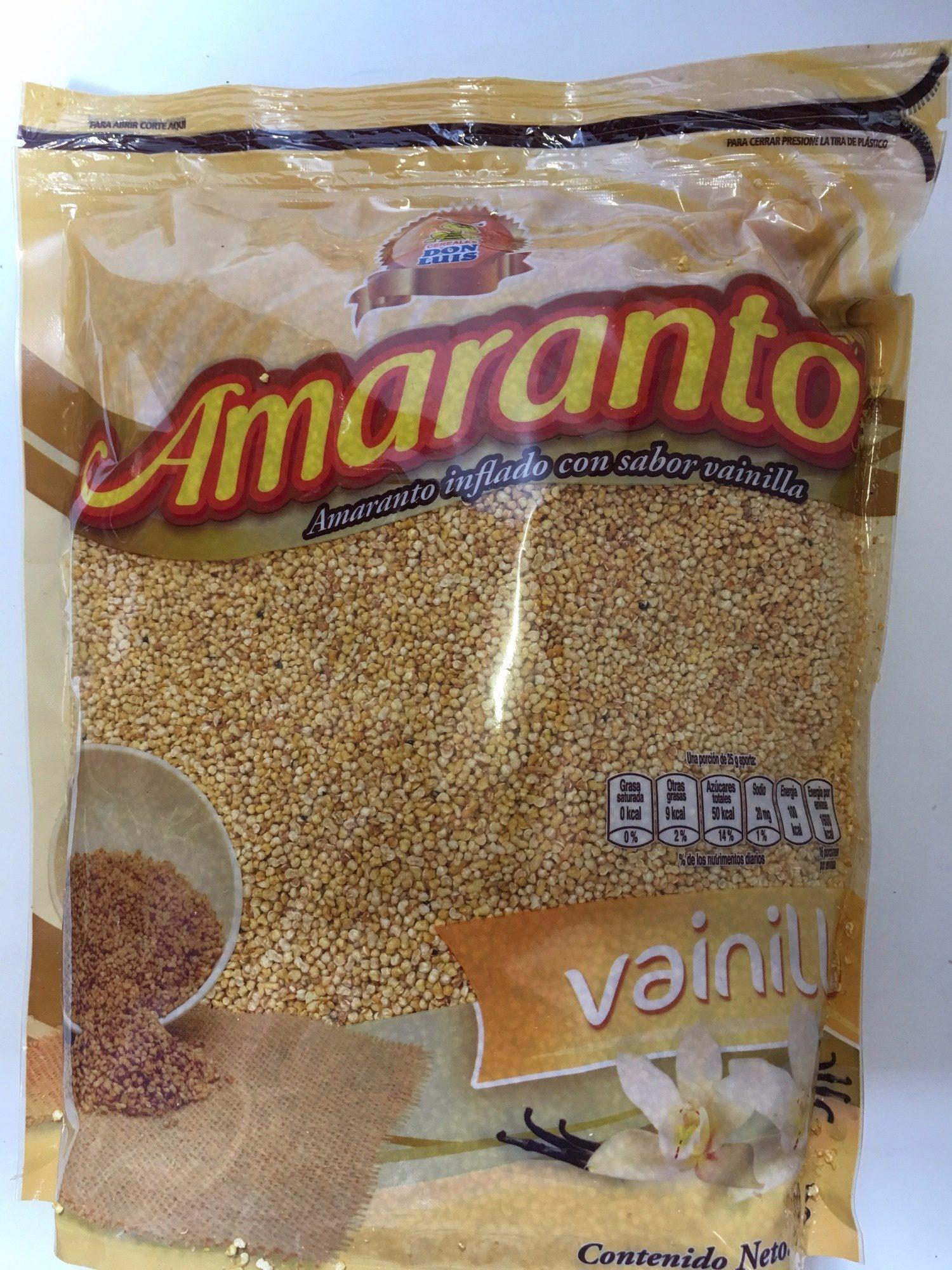Amaranto sabor vainilla - Product - es