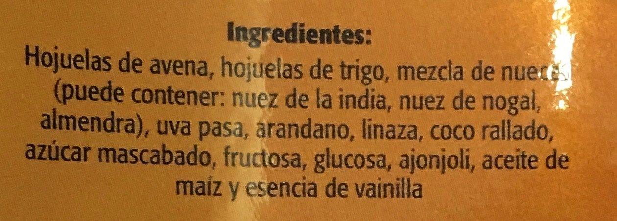GRANOLA DORADA - Ingrediënten - es