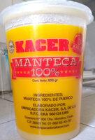 MANTECA 100% - Product