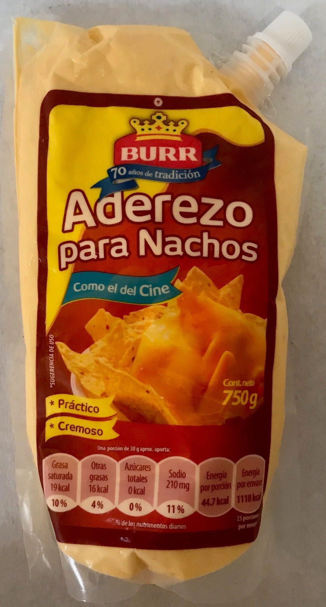 Aderezo para Nachos BURR - Product - es
