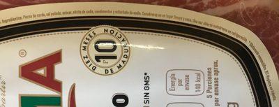 JAMON SERRANO - Ingredients