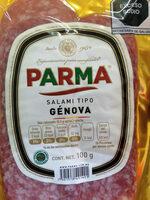 Salami tipo Génova - Ingrédients - es