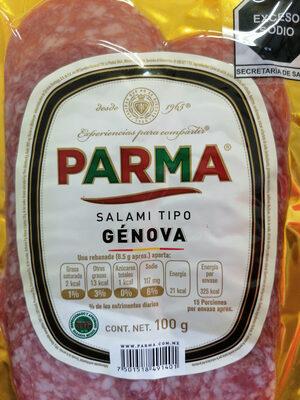 Salami tipo Génova - Informations nutritionnelles - es