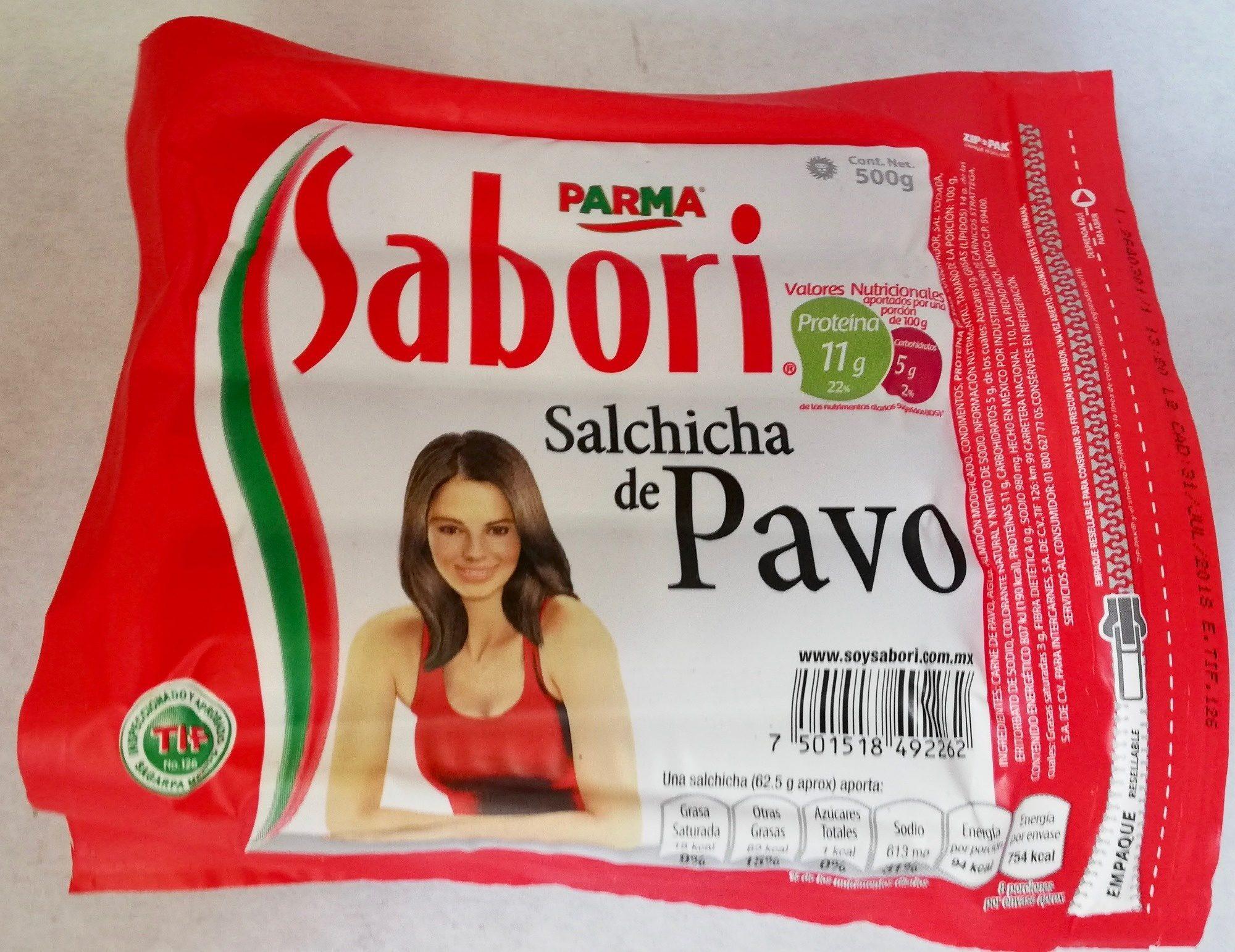 Sabori salchicha de pavo - Parma - 500 g