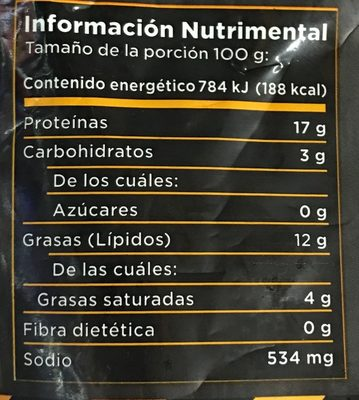 Buffalo Wings Griller's - Nutrition facts