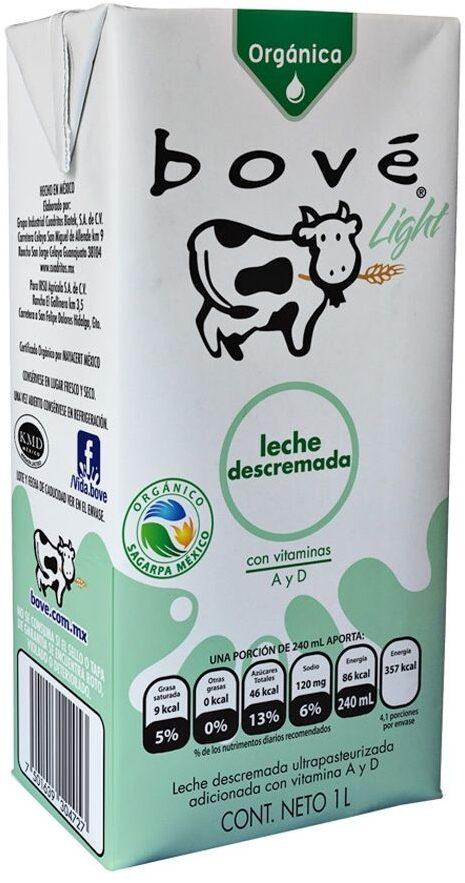 Organica leche de vaca
