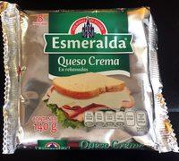Queso Crema en rebanadas Esmeralda - Product