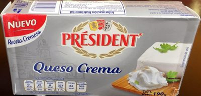 President Queso Crema - Product - es