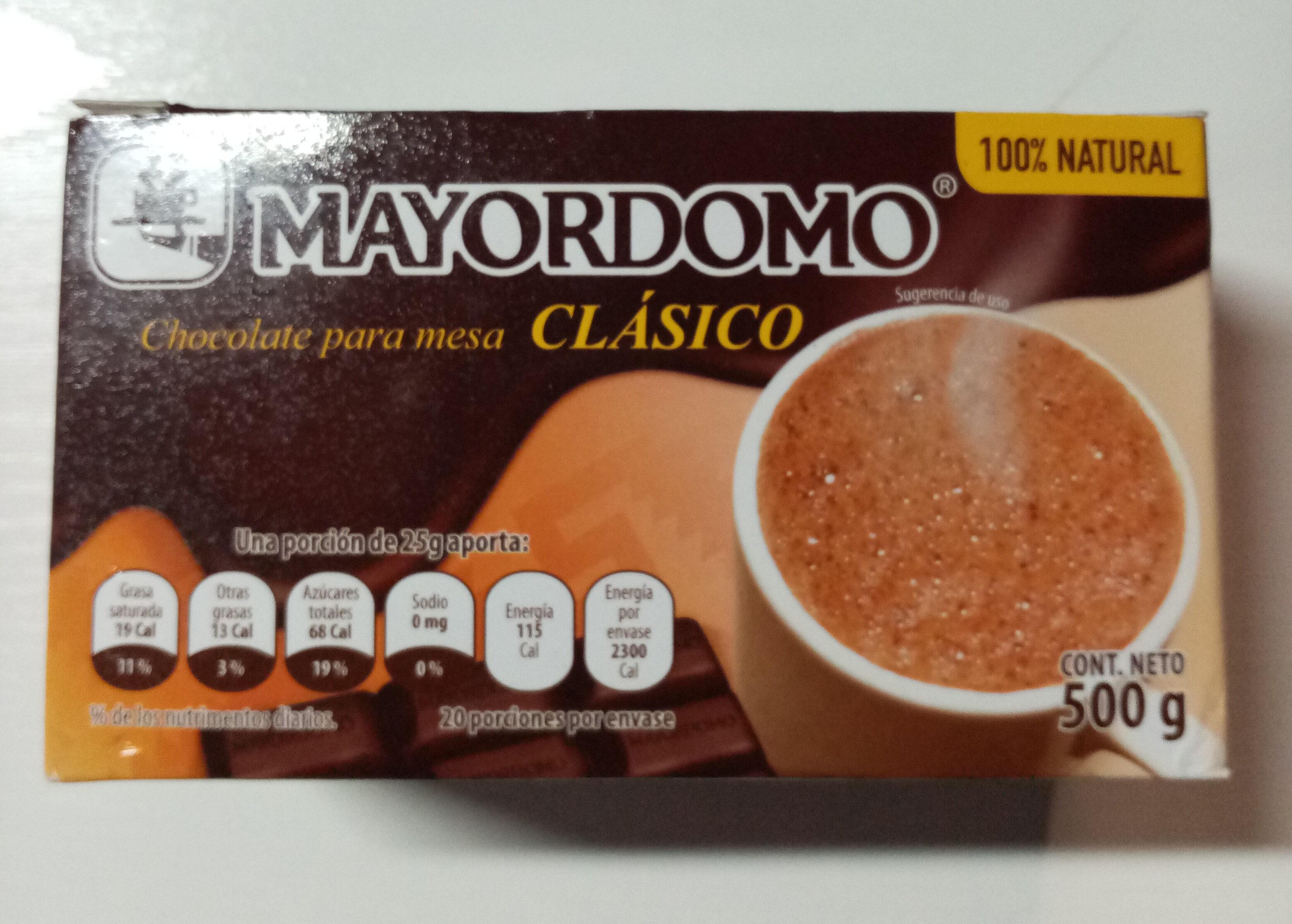 Chocolate Mayordomo - Producto - es