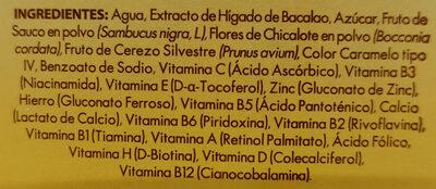 Bacao Max - Ingredientes - es