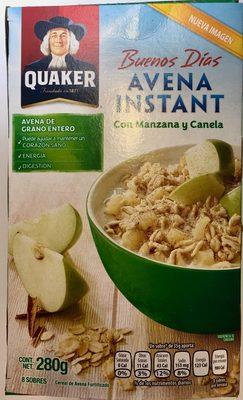 Buenos Días Avena Instant con Manzana y Canela - Product - es