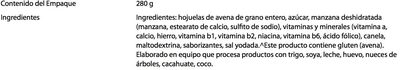Buenos Días Avena Instant con Manzana y Canela - Ingrediënten - es