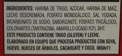 Pancake Mix - Ingredients - es