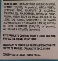 GALLETAS QUAKER VAINILLA - Ingredients