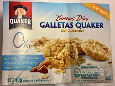 GALLETAS QUAKER CON ALMENDRA - Produit - es