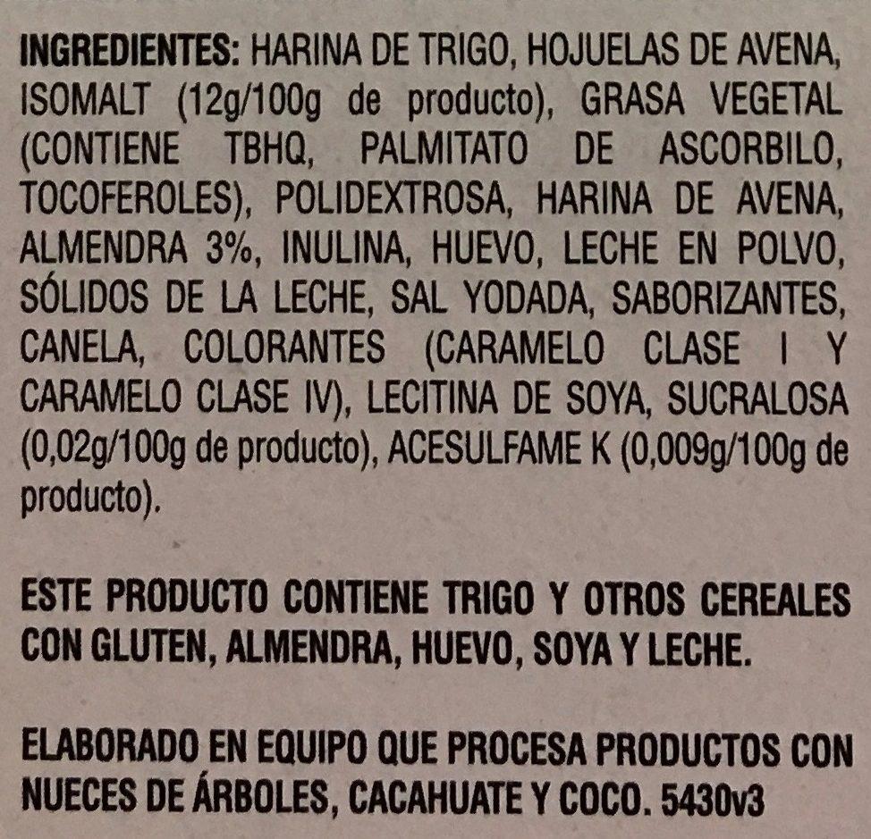 GALLETAS QUAKER CON ALMENDRA - Ingrédients - es