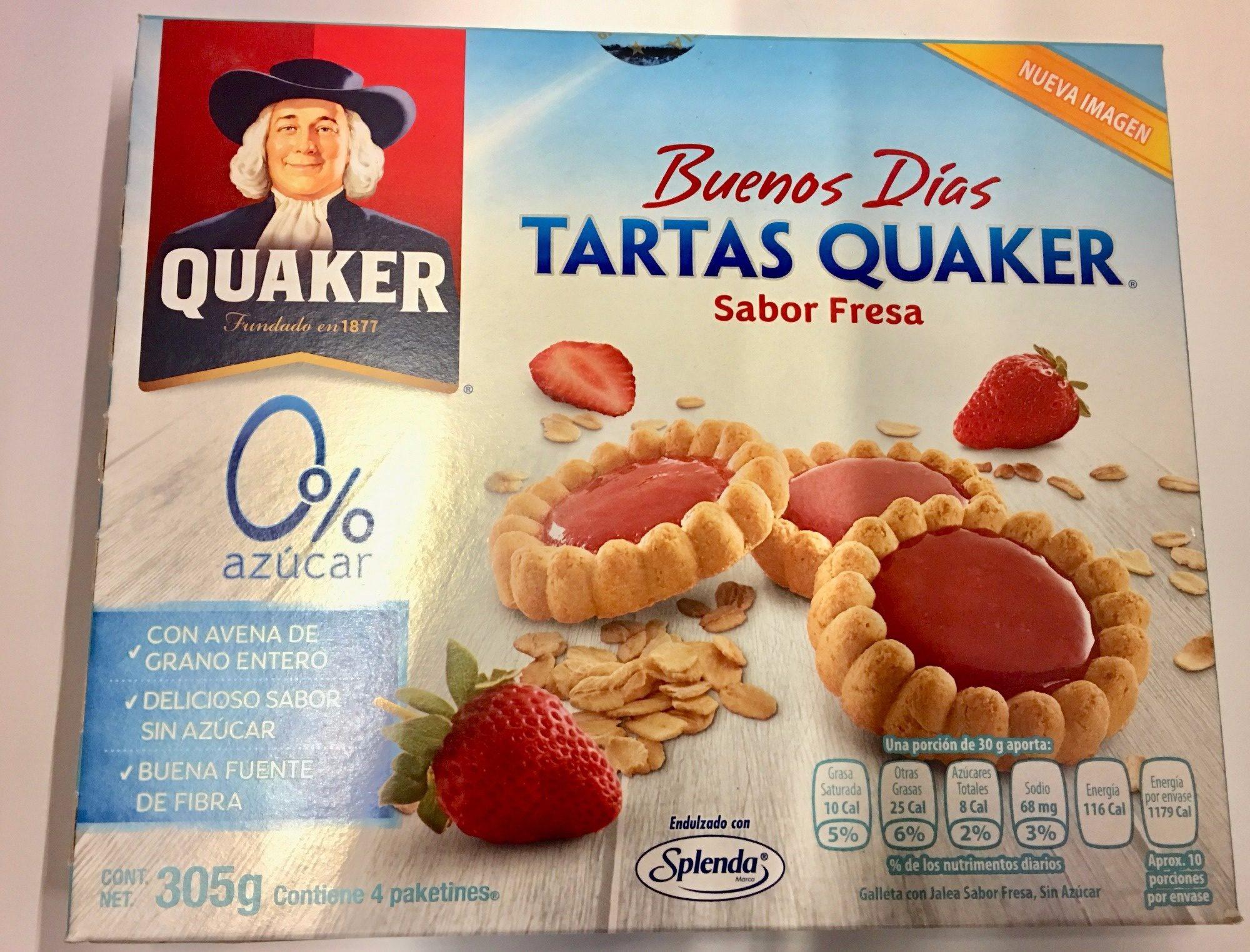 TARTAS QUAKER FRESA - Product