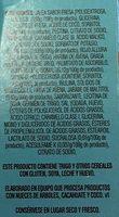 TARTAS QUAKER FRESA - Ingrediënten