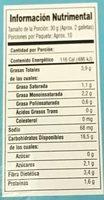 TARTAS QUAKER FRESA - Voedingswaarden