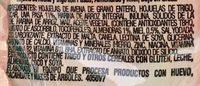 GRANOLA CON AVENA PASAS ALMENDRA Y MIEL - Ingrédients - es